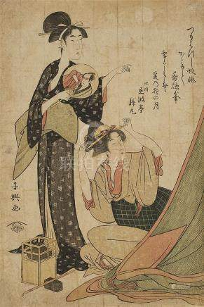 Eishôsai Chôki (act. about 1780–1810)
