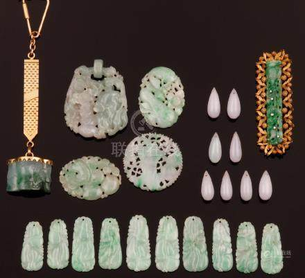 Lot of jade