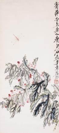 QI BAISHI (1864-1957), DRAGONFLY