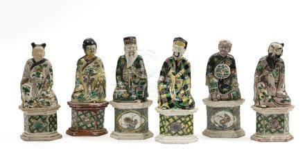 CHINE, Epoque Kangxi XVIIIe siècle