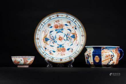 Chinese Art Three Imari porcelain vessels China