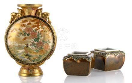 Vases Antiques Dutiful Samurai Vase Vases Pair Vintage Mark On Bottom Catalogues Will Be Sent Upon Request