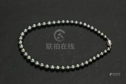 黑珍珠項鏈