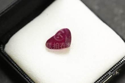 心形紅寶石 9.495g