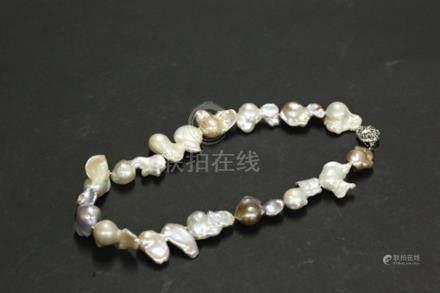 異形珍珠項鏈