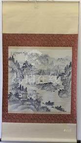 陳文翰山水圖 軸