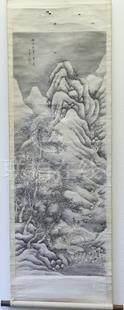 王翚 山水 軸