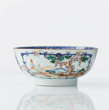 A Chinese 'valentine pattern' bowl