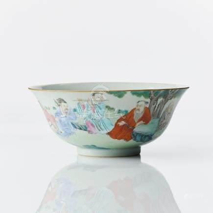 An 'eight immortals' bowl