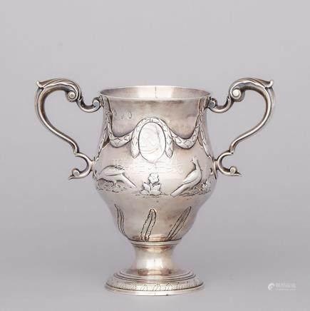 George III Irish Silver Two-Handled Cup, Matthew West, Dublin, 1778