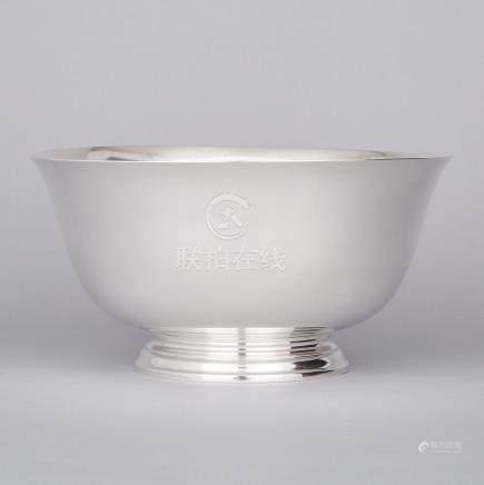 American Silver Bowl, Tiffany & Co., New York, N.Y., 20th century