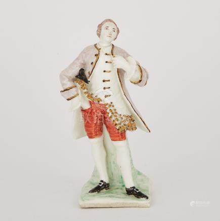 Bow Figure of an Actor, possibly David Garrick, c.1752