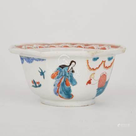 Chelsea Kakiemon Octagonal Bowl, c.1750-52