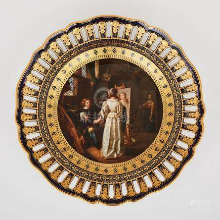 Meissen Reticulated Cabinet Plate, late 19th century