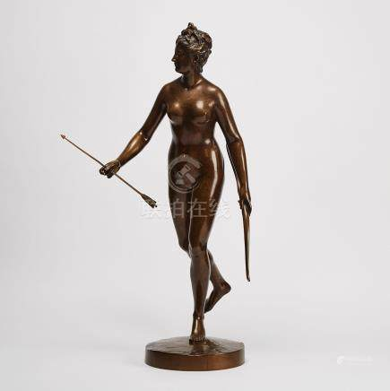 After Jean Antoine Houdon, (French, 1741-1828), DIANA CHASSERESSE