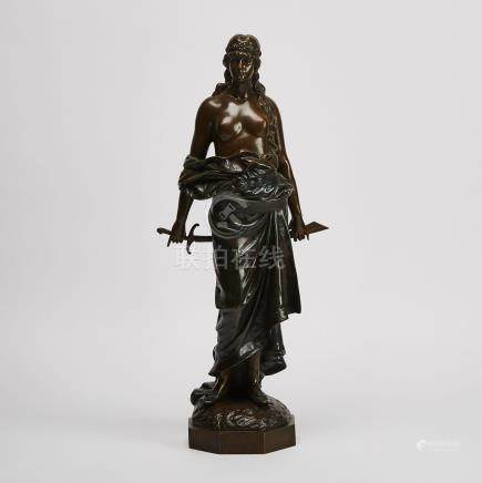 French School Figure of Salome, early 20th century