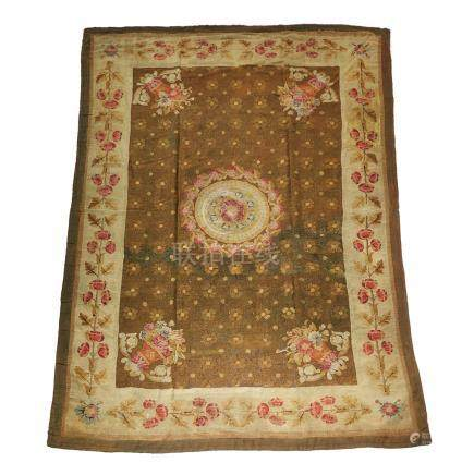 Aubusson Tapestry Carpet, mid 19th cenutry or earlier