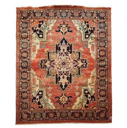 Serapi Carpet, Persian, late 20th century, 9'4\ X 7'10\ – 2.8 X 2.4 m