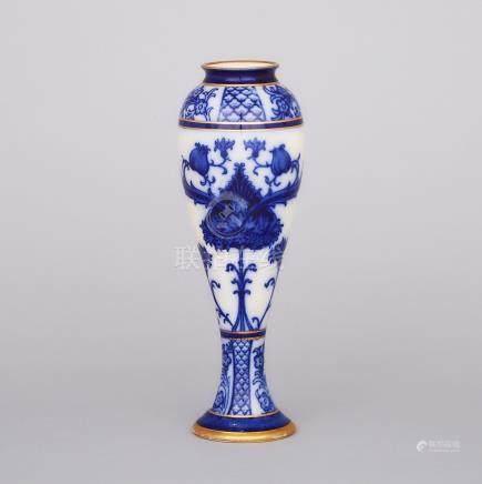 Macintyre Moorcroft Aurelian Vase, c.1898, height 11.6\ — 29.5 cm.