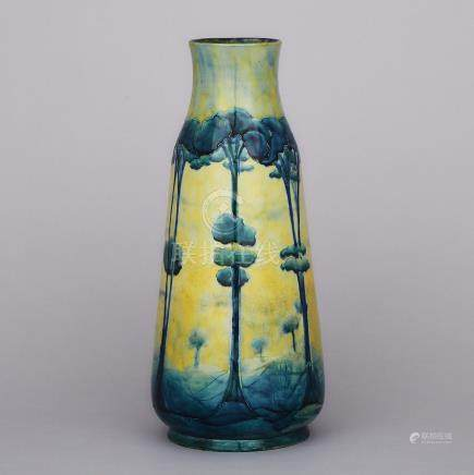 Macintyre Moorcroft Hazeldene Vase, c.1903, height 13\ — 33 cm.