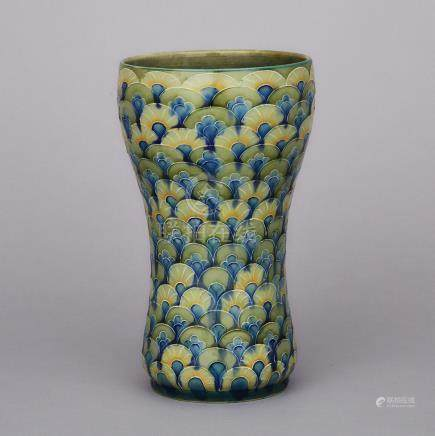 Moorcroft Scale Pattern Vase, for Liberty & Co., c.1907, height 8.1\ — 20.6 cm.