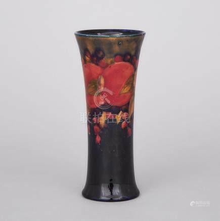 Moorcroft Pomegranate Vase, c.1916-18, height 7.3\ — 18.6 cm.