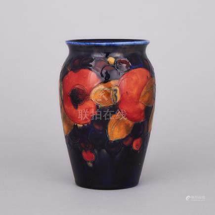 Moorcroft Pomegranate Vase, c.1925, height 6\ — 15.2 cm.