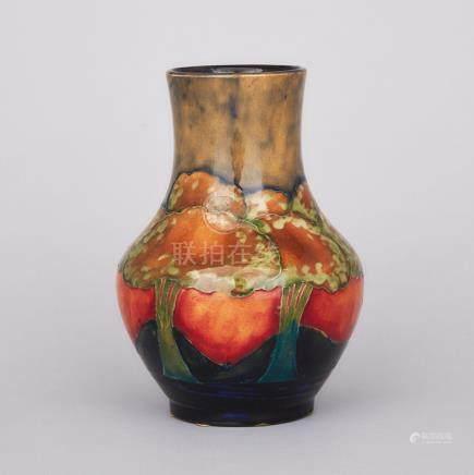 Moorcroft Eventide Vase, c.1925, height 7\ — 17.5 cm.