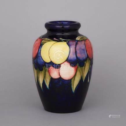 Moorcroft Wisteria Vase, c.1925, height 8.2\ — 20.8 cm.