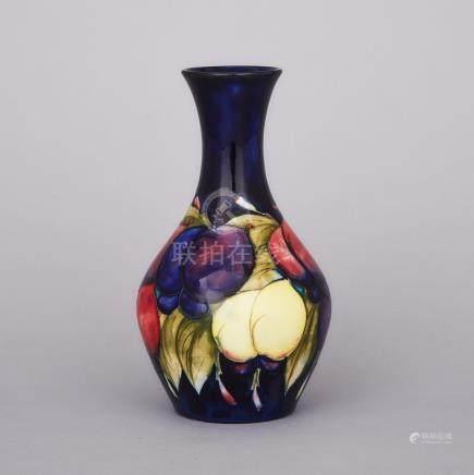 Moorcroft Wisteria Vase, c.1925, height 8.1\ — 20.5 cm.