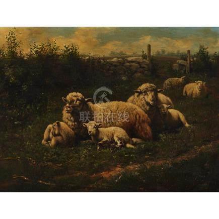Arthur Fitzwilliam Tait (1819-1905), SPRINGTIME, 1895