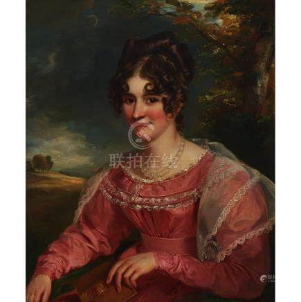 """Attributed to SIR WILLIAM BEECHEY (1753-1839), SAID TO BE """"LADY CAMBRIDGE"""""""