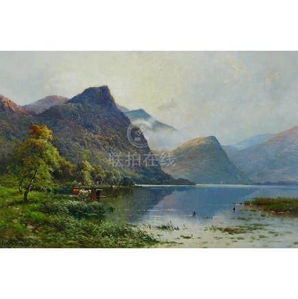 Alfred Fontville de Breanski Jnr. (1877-1957), WATERLILY BAY, DERWENTWATER