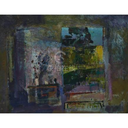 Fred Cuming (1930- ), THE STUDIO DOOR, 1986