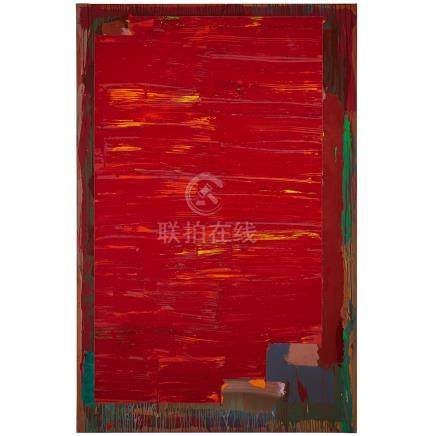 "John Hoyland (1934-2011), SHUTTER, 16.4.76 (1976), Acrylic on canvas; signed and dated ""16.4.76"""