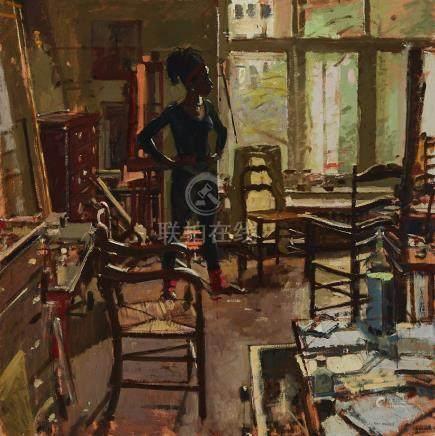 Ken Howard (1932- ), ANDRIE AT ORIEL
