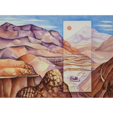 Mario Carreño (1913-1999), EL INDIO (MINING VOLUME I), CHILE, 1982