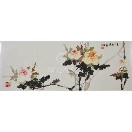 Wu Yisheng 伍彛生 (1929-2009), Peonies, 伍彛生 (1929-2009)