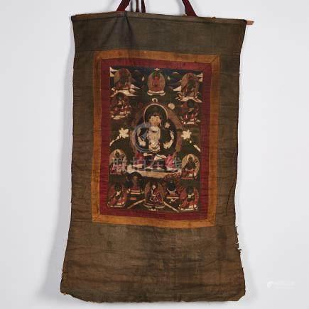 A Thangka of White Tara, Tibet, 18th Century