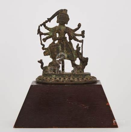 A Bronze Figure of Durga, Nepal, 17th Century