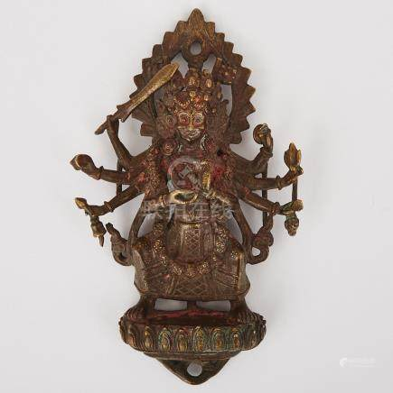 A Bronze Figure of Chamunda, Nepal, 17th Century