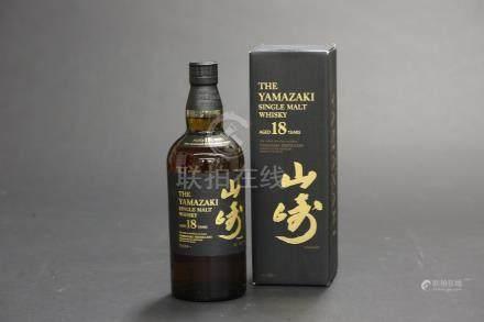 山崎18年威士忌