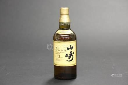 山崎12年威士忌