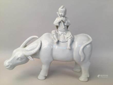 Dehualar-whiteporcelain figure statue