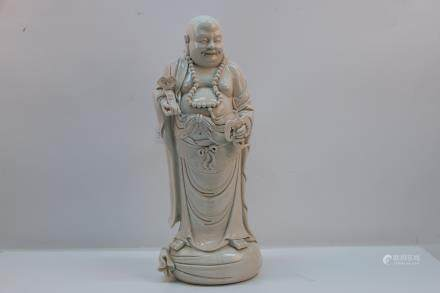 A chinese porcelain statue with mark
