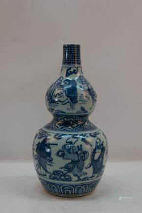 A chinese blue&white vase