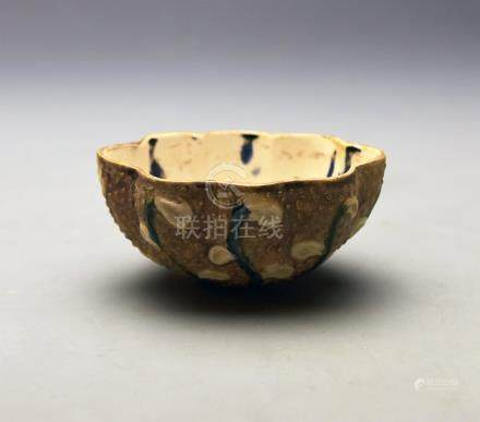 "Tang Dynasty, ""Tang Sancai"" Wine Cup"