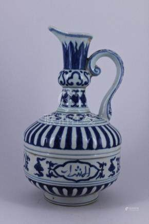 Ming Blue&White Porcelain Pot