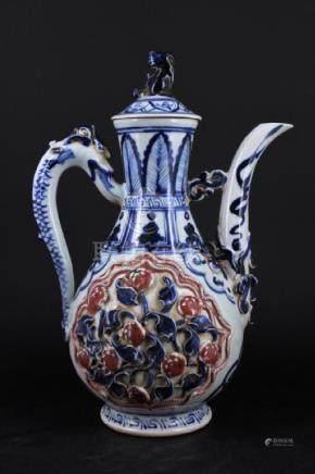 Chinese Ming Porcelain Porcelain TeaPot