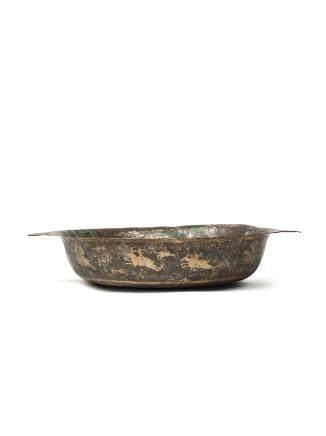 唐 銀鎏金狩獵紋盤